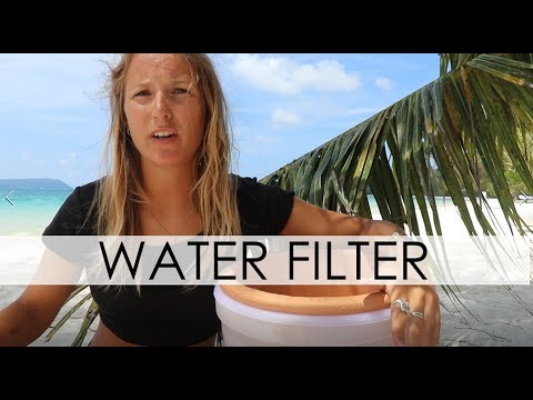 Zero Waste : Ceramic Water Filter for Clean Water : Cambodia Part 7