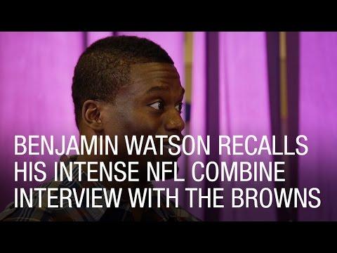 Benjamin Watson Recalls His Intense NFL Combine Interview with the Browns