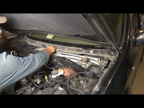 Windshield wiper motor replacement - (2001-2006 Ford ...