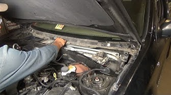 Windshield wiper motor replacement - (2001-2006 Ford Escape)