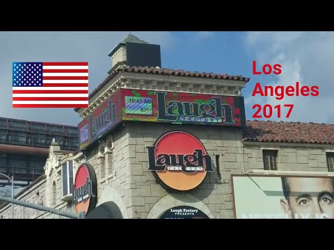 Los Angeles Driving Tour: October 20, 2017