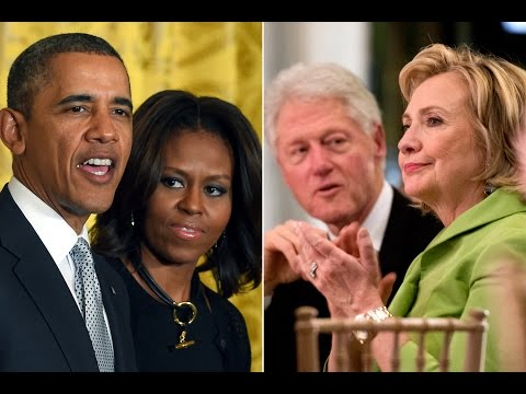 Do the Obamas and Clintons hate each other?  Dr Wilmer Leon