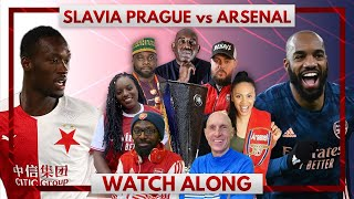 Slavia Prague vs Arsenal | Watch Along Live