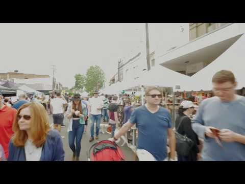 Sydney Video Walk 4K - Crows Nest Festival Spring 2017