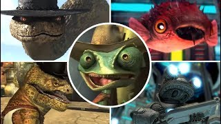 Rango Video Game All Bosses | Final Boss (PS3, X360, WIi)