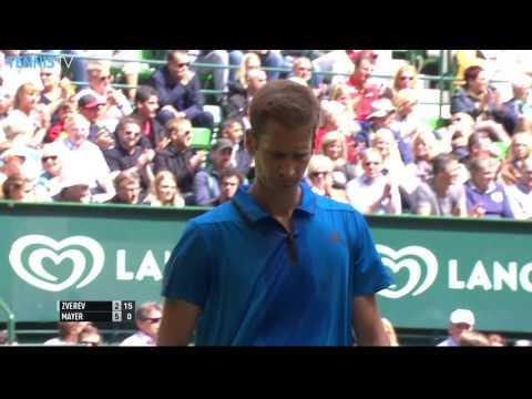 2016 Gerry Weber Open: Alexander Zverev v Florian Mayer Final Highlights