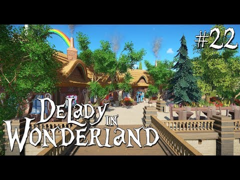 22. Planet Coaster: DeLady in Wonderland - Fairytale Restaurant and Little Drats Ride - Part 1