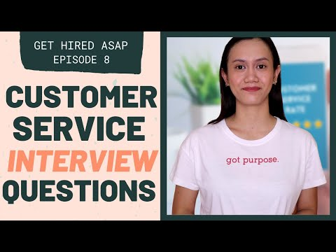 CUSTOMER SERVICE INTERVIEW QUESTIONS - What Your Hiring Manager Wants To Hear