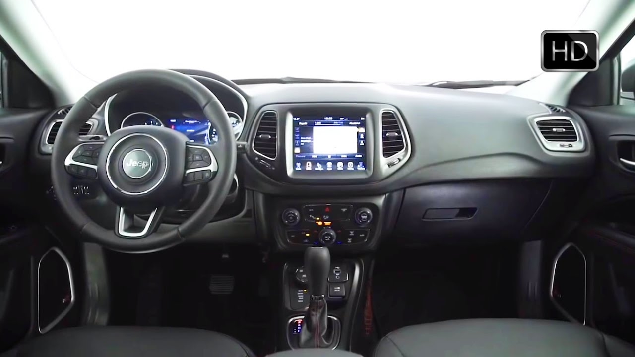 2017 Jeep Compass SUV Interior Design Overview HD VIDEO YouTube