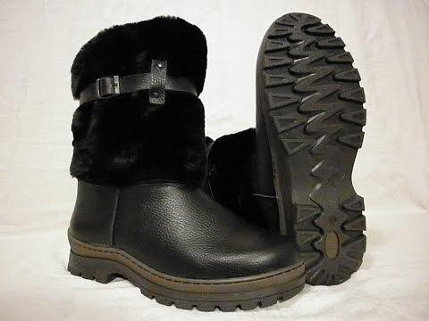 Саратов теплая легкая зимняя обувь сапоги - унты мужские натуральные на литой подошве в Саратове