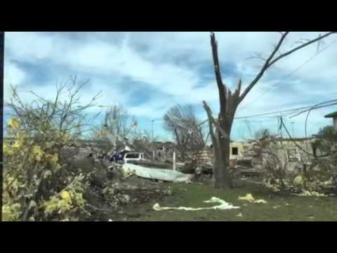 Rowlett Rockwall TX tornado damage Dec 26 2015 destruction