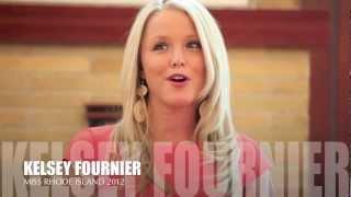 Kelsey Fournier is Miss Rhode Island 2012!