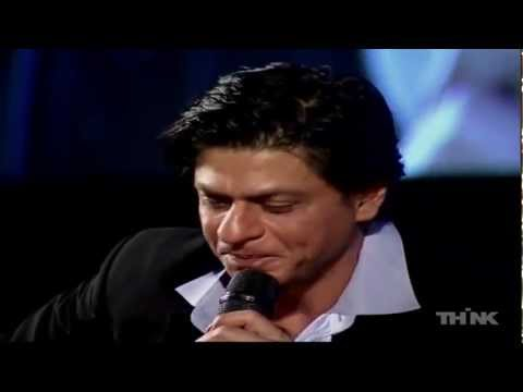 Shahrukh Khan THiNK2012 full conversation on his past & family tragedies