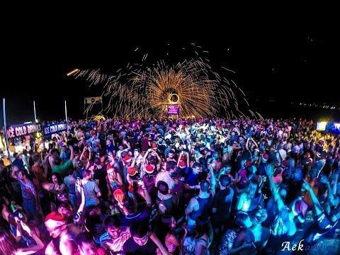 Island Info – ARKbar – Beach Party – Koh Samui – Thailand.flv