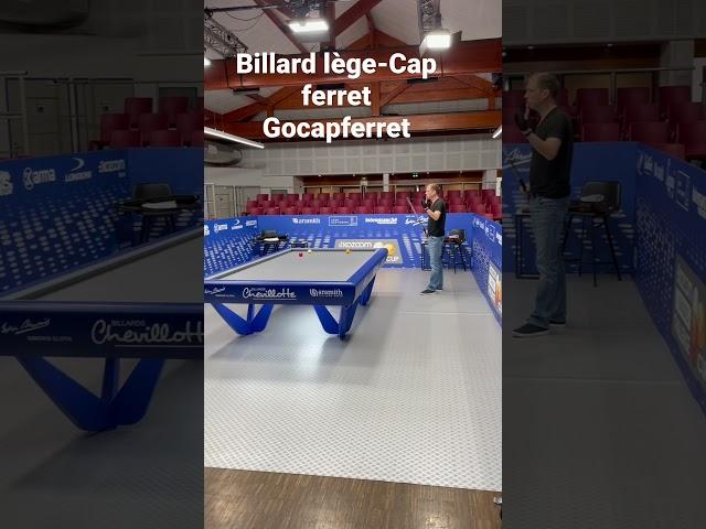 Billard 3 bandes challenge cup Kozoom 3C  – Entrainement  Lège-Cap Ferret Ep 01 Vertical