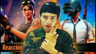 FORTNITE VS PUBG - IVANGEL MUSIC & JAY F (Vídeo Reacción)