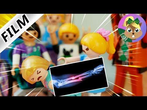 بلايموبيل فيلم |هانا تكسر ذراع روجنا -صراع في فناء المدرسة |الفيلم للأطفال أسرة الطيور