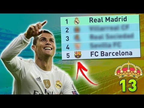 FINALMENTE CONSEGUIMOS! O REAL ESTÁ ONDE DEVERIA!   Modo Carreira #13 - Real Madrid (FIFA 18)