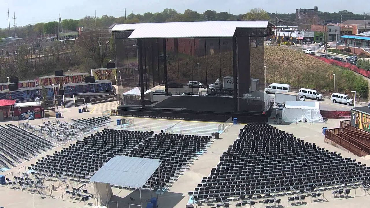 Red Hat Amphitheater Raleigh Nc Youtube