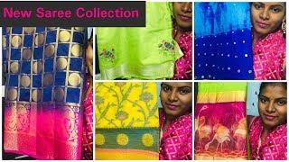 #DIML నా Saree Business పూర్తి వివరాలు /Latest Designer,Kanjeevaram & Mirror work Sarees with Price