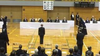 剣道七段審査 名古屋 平成28年11月12日 第2会場 午後の部 260組