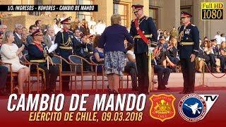[Exclusivo] Cambio de Mando Ejército de Chile - Ingreso - Honores y Cambio de Mando 1/3