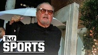 Jack nicholson -- who cares about nba playoffs?! ... no lakers? no interest | tmz sports