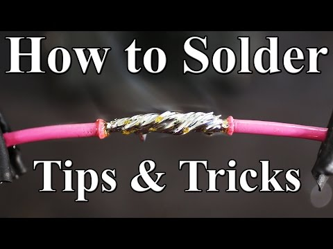 Thumbnail: How to Solder Wires Together (Best tips and tricks)