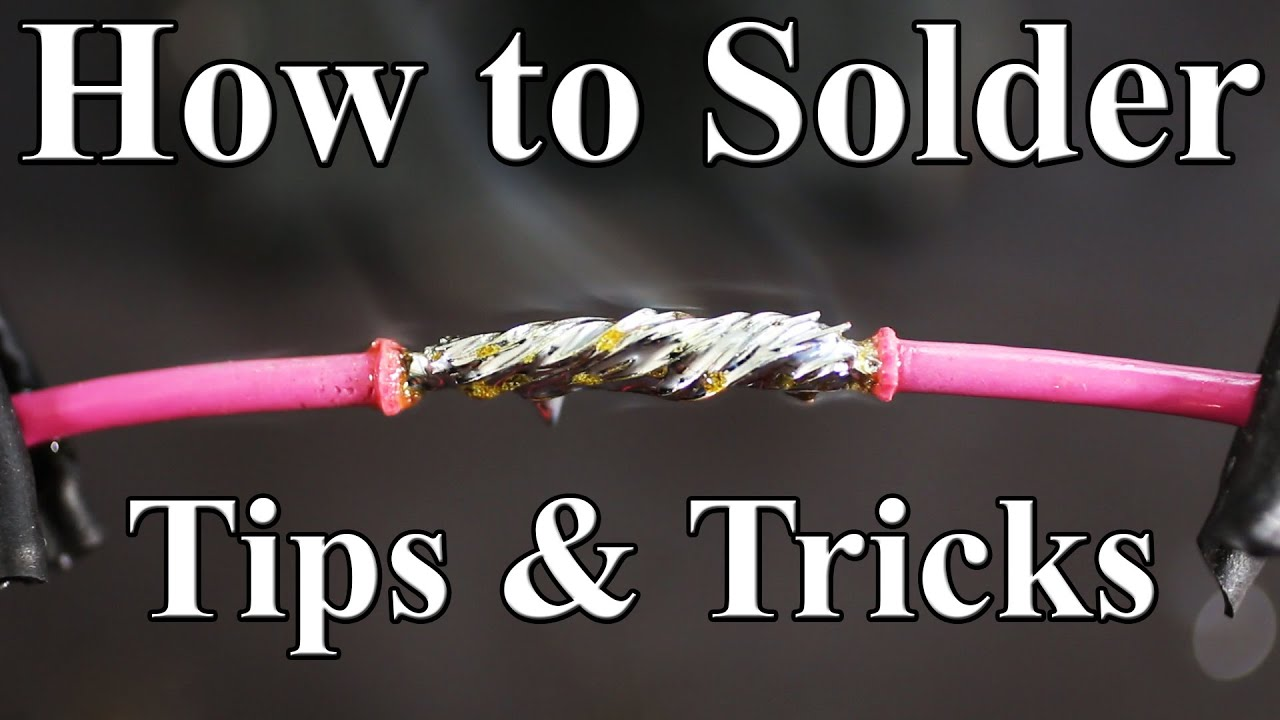 How to solder wires together best tips and tricks youtube keyboard keysfo Gallery