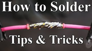 How to Solder Wires Together (Best tips and tricks)