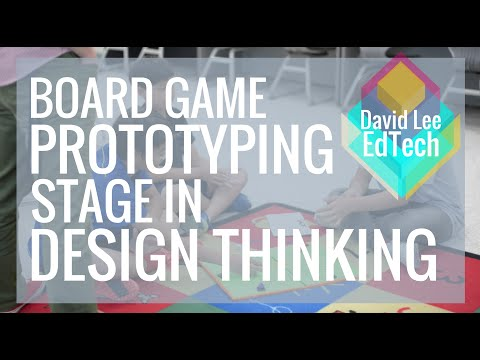 Passion Project: Prototype Stage of Design Thinking (5th Grade)