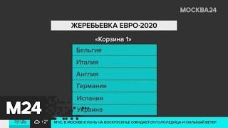 Сборная России по футболу узнает третьего соперника на групповом этапе Евро-2020 - Москва 24