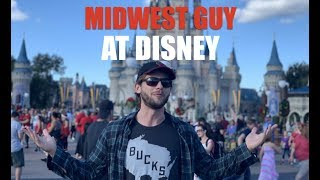 Midwest guy at Disney