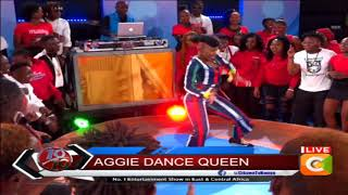 Aggie the Queen of 'Short n Sweet' viral dance
