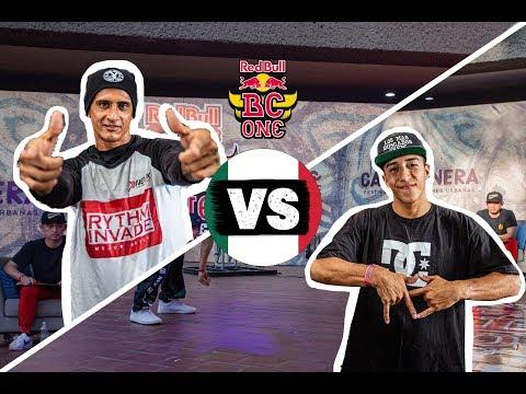 B-Boy Nano Bot Vs. B-Boy Hispano   Red Bull BC One Cypher Mexico Semifinal