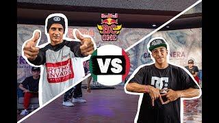 B-Boy Nano Bot vs. B-Boy Hispano | Red Bull BC One Cypher Mexico Semifinal