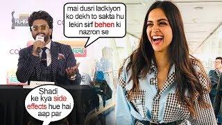 Ranveer Singh's FUNNIEST Reaction on Side Effects of MARRYING Deepika Padukone