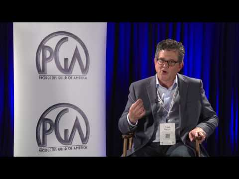 Pinewood Atlanta Studios President, Frank Patterson, at Produced By Conference