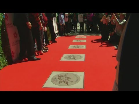 New inductees to Canada's Walk of Fame