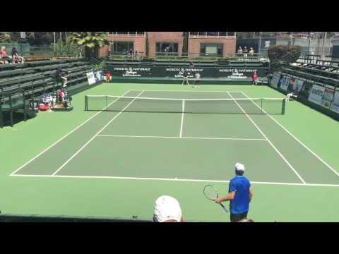 Ray Sarmiento vs Ruan Roelofse 2016 Aptos Challenger