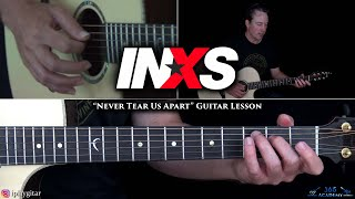 INXS - Never Tear Us Apart Guitar Lesson