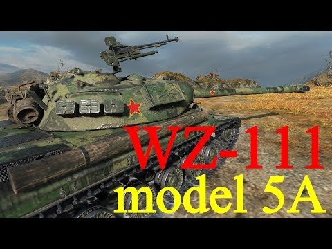 【WoT:WZ-111 model 5A】ゆっくり実況でおくる戦車戦Part385 byアラモンド