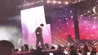 Download BTS Jungkook came down from the stage to greet an army who's on wheelchair.