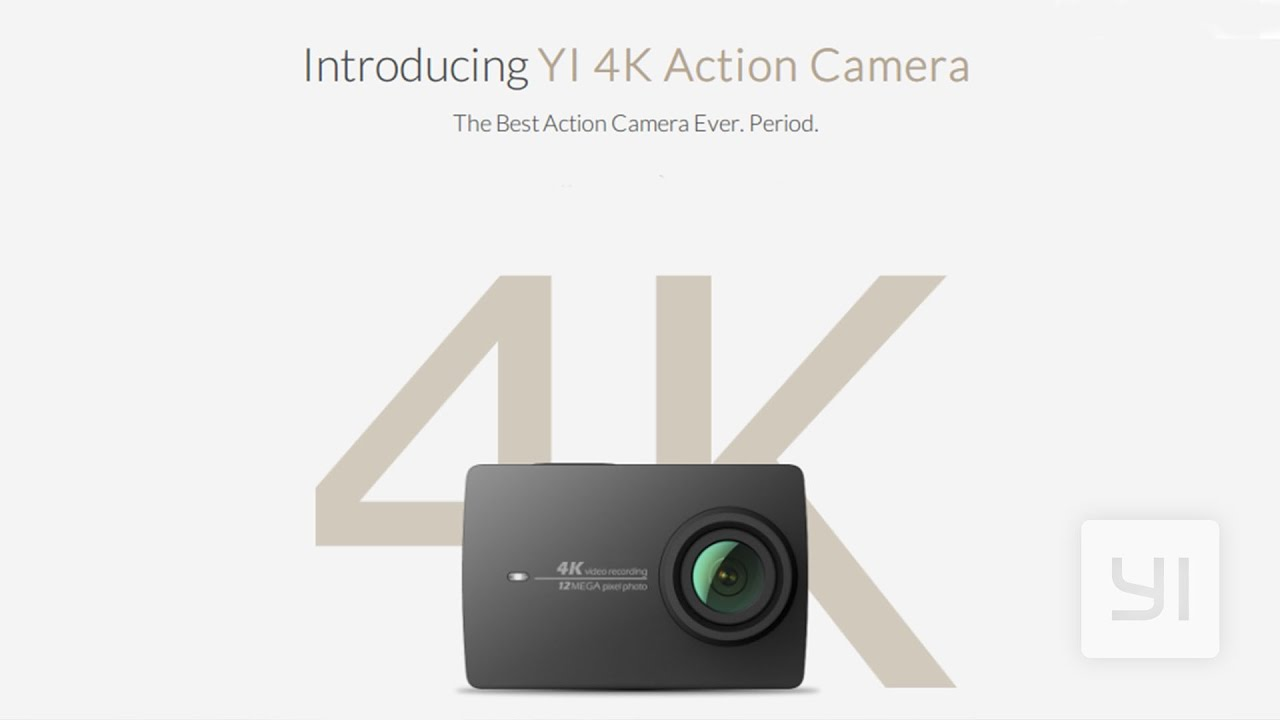 YI Technology 4K Action Camera (Black)
