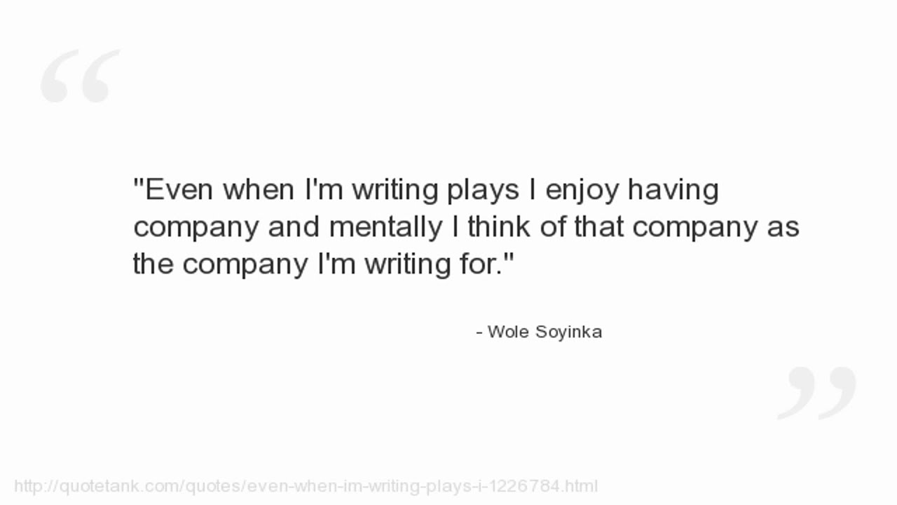 Wole Soyinka Quotes Youtube