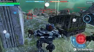 Probando combinaciones locas en war robots