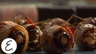 Bacon Wrapped Dates Stuffed With Cream Cheese - Emeril's Game Day - Emeril Lagasse