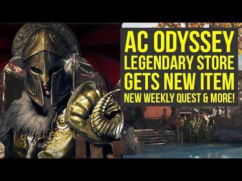 assassin 39 s creed odyssey legendary shop resets new weekly. Black Bedroom Furniture Sets. Home Design Ideas