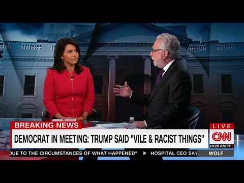 Tulsi Gabbard Speaks with CNN