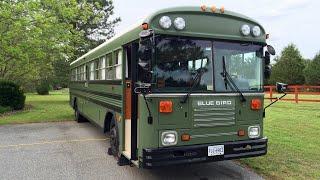 My Blue Bird TC2000 School Bus Conversion